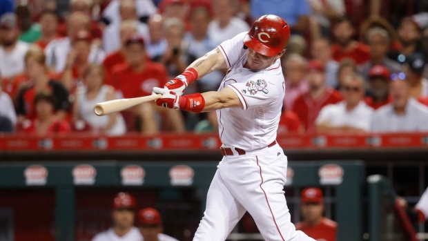 Cincinnati's Scooter Gennett Ties MLB Record with Four Homers