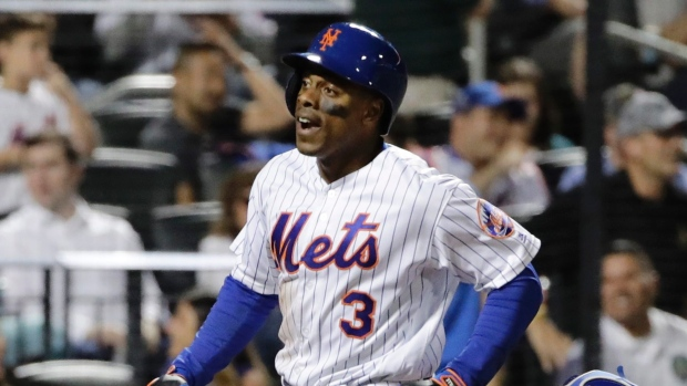 Curtis Granderson Hits First Dodger Home Run