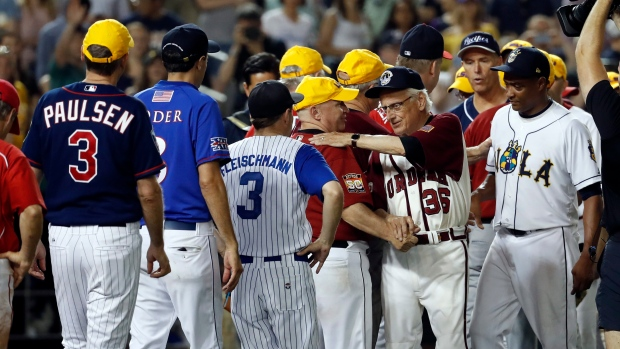Democrats and Republicans come together after Congressional baseball game