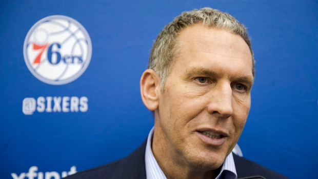 76ers president denies using secret Twitter accounts to criticize his own players