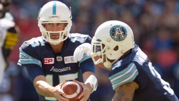 Ricky Ray and Brandon Whitaker