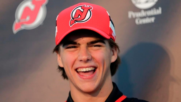 New Jersey Devils putting no pressure on Nico Hischier Article Image 0
