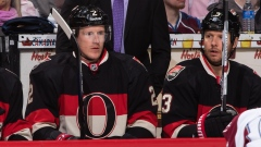 Dion Phaneuf and Marc Methot