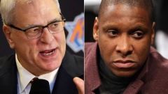 Phil Jackson and Masai Ujiri