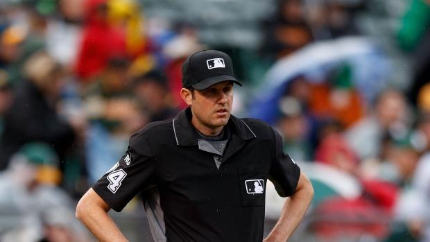 939287cfa8d Report  MLB umpire saves woman on bridge - TSN.ca