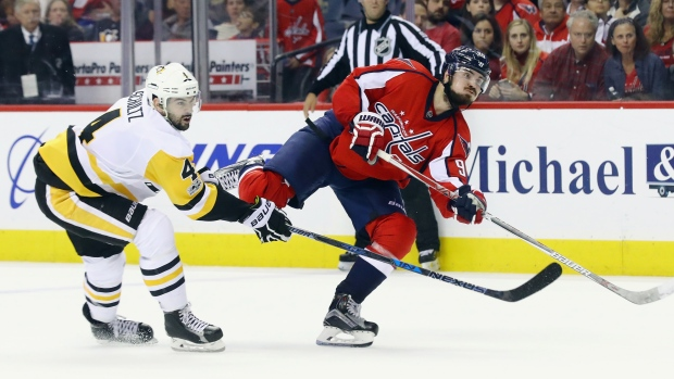 Washington Capitals trade Marcus Johansson to New Jersey Devils