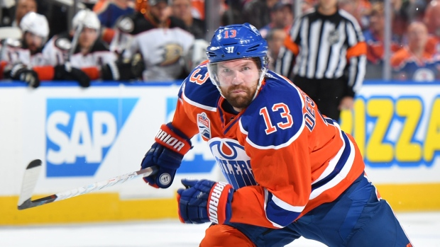David Desharnais will play for the Rangers