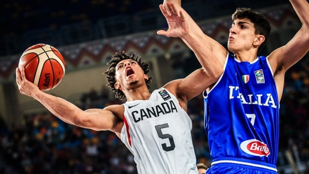 4cf2a290a8574 Canada downs Italy to win U19 basketball World Cup - TSN.ca