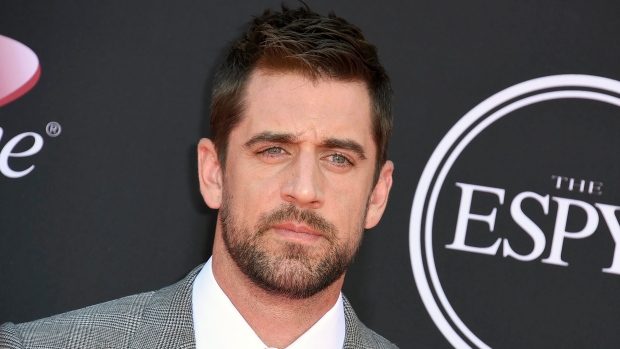 Aaron Rodgers at the ESPYS