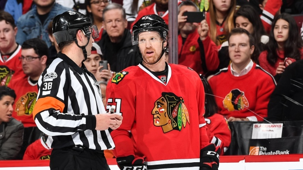 Blackhawks D Campbell Joins Front Office Tsn Ca
