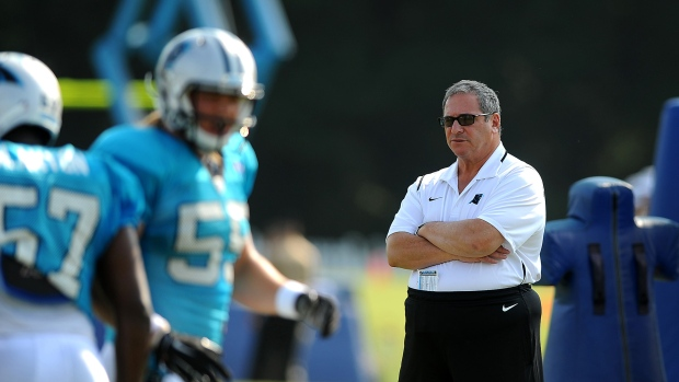 Panthers relieve GM Gettleman of duties