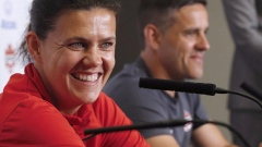 Canada captain Christine Sinclair looks to score for MS Society of Canada Article Image 0