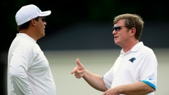 Ron Rivera and Marty Hurney