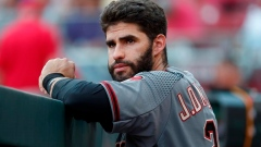 OF J.D. Martinez hurts left hand in debut with Diamondbacks Article Image 0