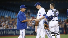 John Gibbons and Aaron Sanchez
