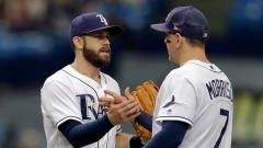 Evan Longoria and Logan Morrison