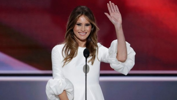 Melania Trump leading U.S. delegation to Invictus Games in Toronto