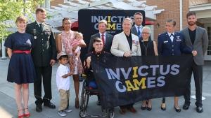 Invictus Games launches inaugural flag tour