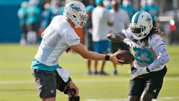 Dolphins' Ajayi evaluated for possible concussion - TSN.ca