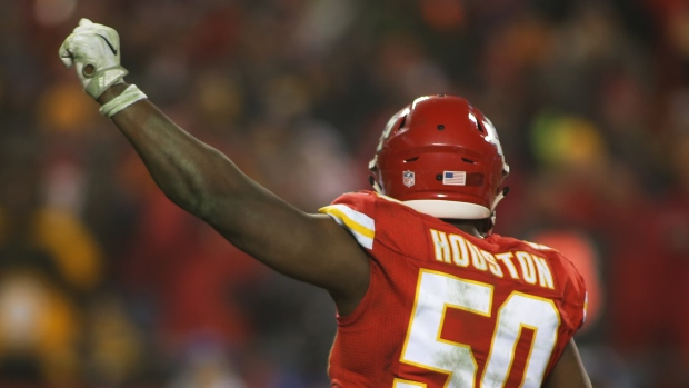 Chiefs release veteran LB Justin Houston to free cap space