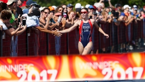 Scorching weather tests athletes at Canada Games