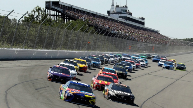 NASCAR moves Sunday's start because of tropical storm - TSN ca