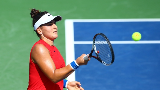 Canadian Eugenie Bouchard wins in 1st round at ASB Classic