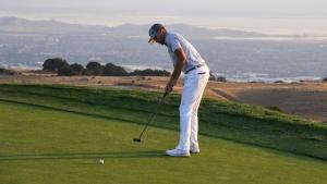 Curry misses cut, still impresses golf's best