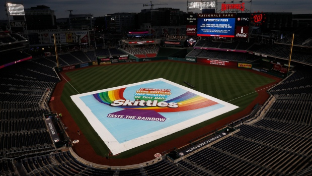 Washington Nationals Rain Delay