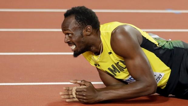 b3069fa057d Bolt ends stellar career with injury - TSN.ca