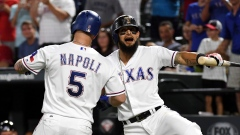Mike Napoli Rougned Odor
