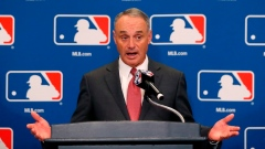MLB's Manfred working on pace of play with Clark, union Article Image 0