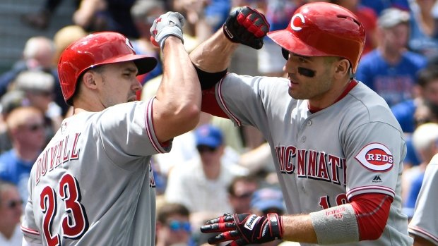 Joey Votto Adam Duvall
