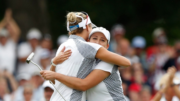 Cristie Kerr and Lexi Thompson