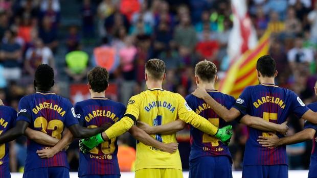 Barcelona-moment-of-silence