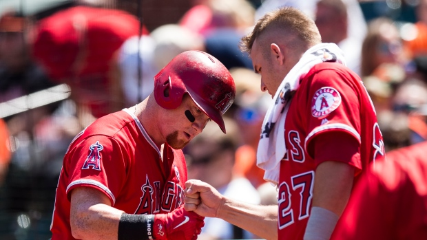 Kole Calhoun and Mike Trout