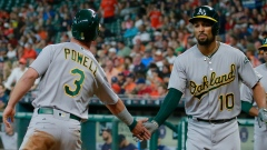 Marcus Semien and Boog Powell