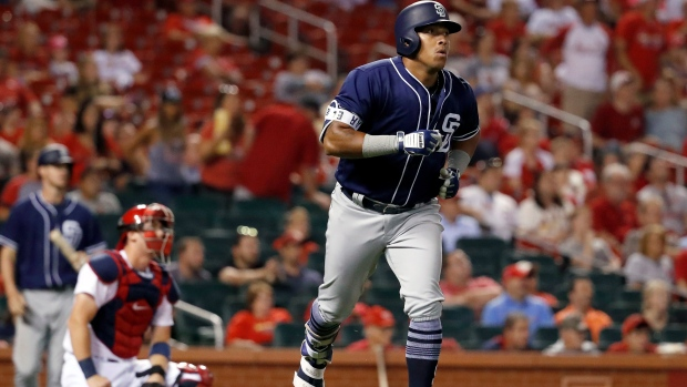 Toronto Blue Jays Acquire Yangervis Solarte from Padres