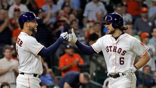 George Springer Jake Marisnick