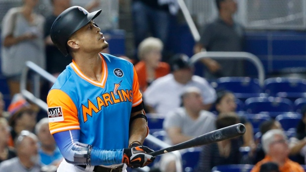 Stanton hits 50th home run