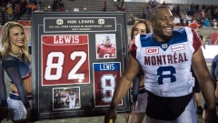 Nik Lewis ceremony