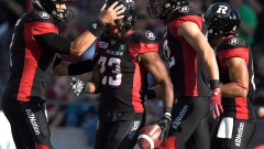 Ottawa Redblacks celebrate