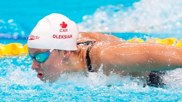 Four-time Olympic medallist Oleksiak returning to former coach O'Toole Article Image 0