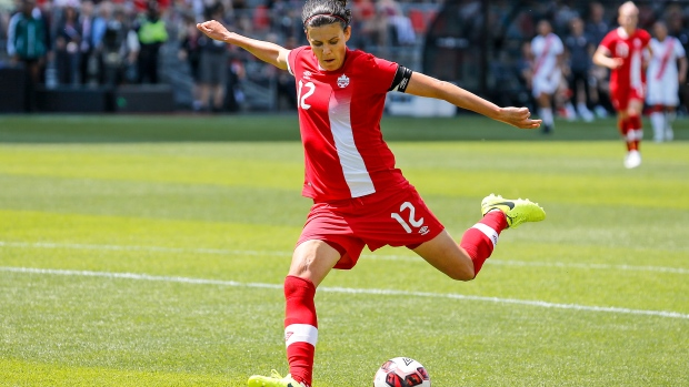 Christine Sinclair sounds call for women's professional soccer in Canada - TSN.ca