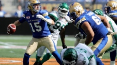 Denmark, Leggett help Blue Bombers halt Roughriders' winning streak Article Image 0