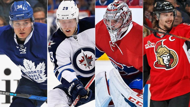 Leafs, Jets, Habs and Sens on TSN