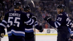 Scheifele, Wheeler and Laine
