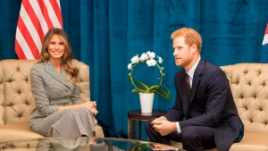 US first lady to Invictus athletes: 'Bring home the gold'