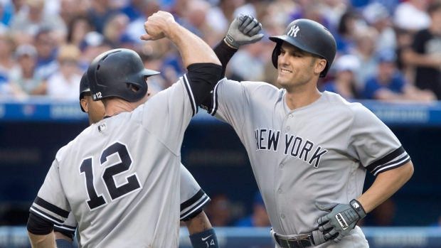 Greg Bird Chase Headley