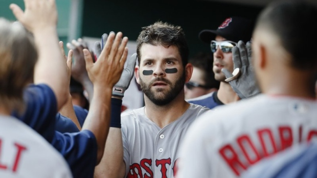 Mitch-moreland-and-boston-red-sox-celebrate